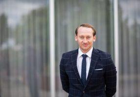 Florian Wehr ist  neuer Leiter Vermietung der S&P Commercial Development. (Foto: Samantha Zoul)